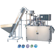 Fully-Automatic 5 Gallon Cap labeling Machine (Sealing Machine)